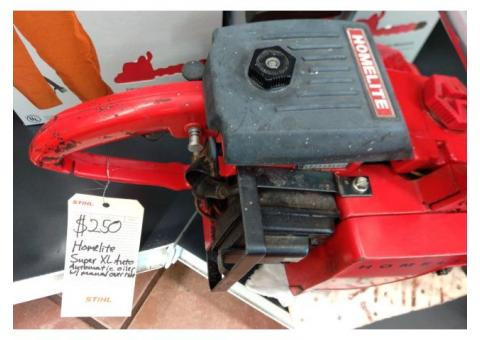 Homelite Chainsaw USED